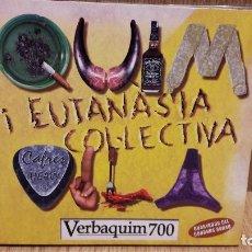 CDs de Música: QUIM VILA I EUTANÀSIA COL.LECTIVA, VERBAQUIM 700. DIGIPACK-CD /PICAP / BUENA CALIDAD / MARCAS LEVES.. Lote 69618041