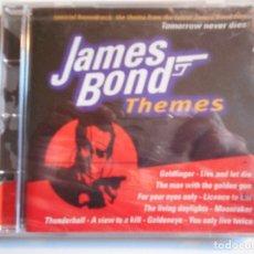 CDs de Música: JAMES BOND THEMES. COMPACTO NUEVO A ESTRENAR CON 19 TEMAS DE LAS PELICULAS DE JAMES BOND.. Lote 69690557