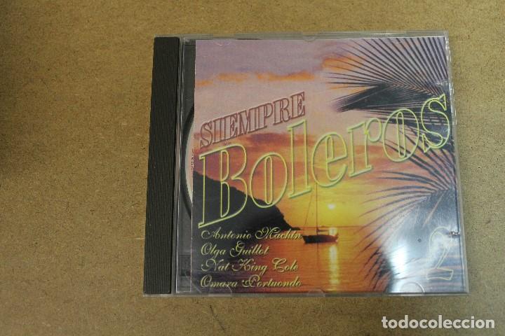 CD SIEMPRE BOLEROS 2 (Música - CD's Otros Estilos)