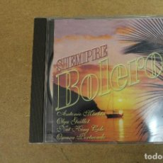 CDs de Música: CD SIEMPRE BOLEROS 2. Lote 69709937