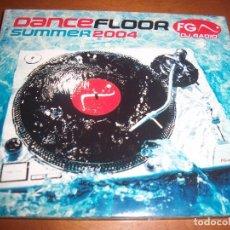 CDs de Música: CD DANCEFLOOR SUMMER 2004. VARIOS ARTISTAS. EDICION BARCLAY DE 2004 (FRANCIA). RARO. MUSICA HOUSE.. Lote 69716209