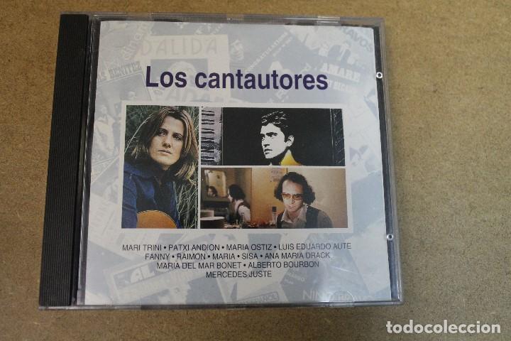 CD LOS CANTAUTORES (Música - CD's Otros Estilos)