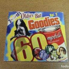 CDs de Música: DOBLE CD OLDIES BUT GOODIES VOL 2. Lote 69726561