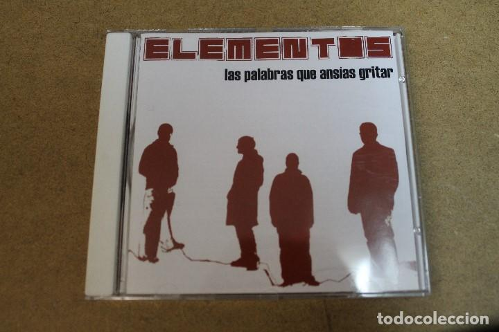 CD ELEMENTOS LAS PALABRAS QUE ANSIAS GRITAR (Música - CD's Otros Estilos)
