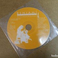 CDs de Música: CD BENJAMI CANÇONS CONTES PASSATGES BIBLICS. Lote 69726629