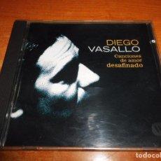 CDs de Música: DIEGO VASALLO CANCIONES DE AMOR DESAFINADO CD ALBUM DEL AÑO DUNCAN DHU CONTIENE 11 TEMAS. Lote 69768274