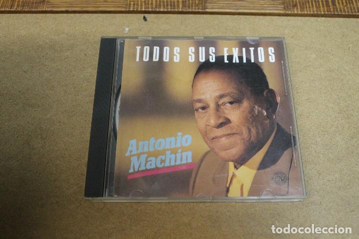 CD ANTONIO MACHIN TODOS SUS EXITOS (Música - CD's Otros Estilos)
