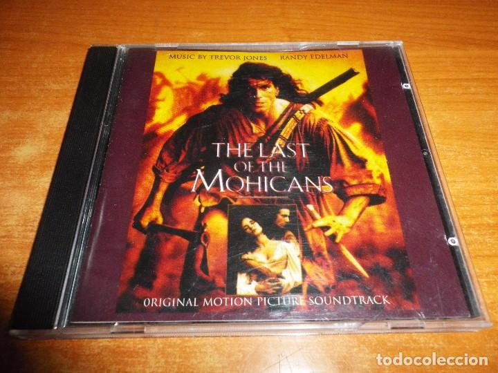 THE LAST OF THE MOHICANS EL ULTIMO MOHICANO BANDA SONORA CD 1992 ALEMANIA TREVOR JONES RANDY EDELMAN (Música - CD's Bandas Sonoras)