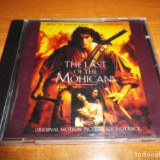 CDs de Música: THE LAST OF THE MOHICANS EL ULTIMO MOHICANO BANDA SONORA CD 1992 ALEMANIA TREVOR JONES RANDY EDELMAN. Lote 69776185