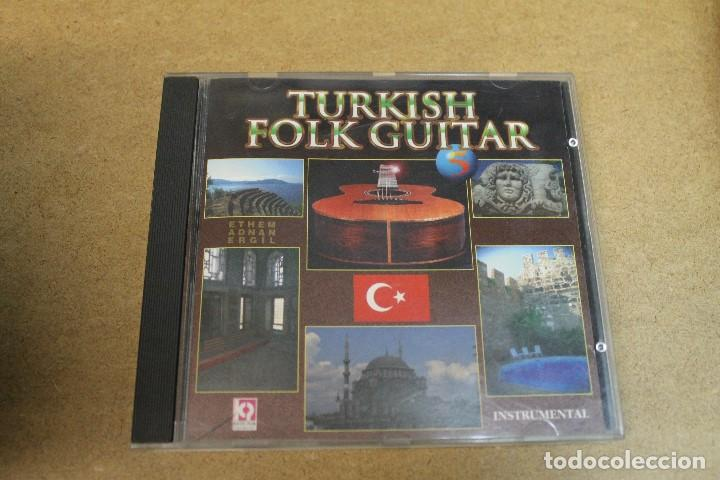CD TURKISH FOLK GUITAR ETHEM ADNAN ERGIL 5 INSTRUMENTAL (Música - CD's Otros Estilos)
