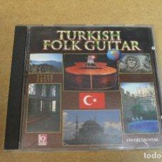 CDs de Música: CD TURKISH FOLK GUITAR ETHEM ADNAN ERGIL 5 INSTRUMENTAL. Lote 69782133