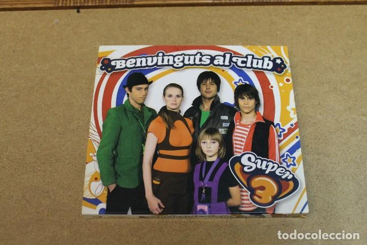 CD BENVINGUTS AL CLUB SUPER 3 (Música - CD's Otros Estilos)