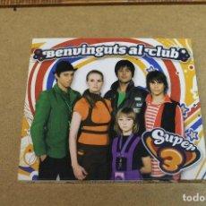 CDs de Música: CD BENVINGUTS AL CLUB SUPER 3. Lote 69789709
