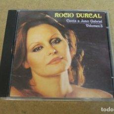 CDs de Música: CD ROCIO DURCAL CANTA A JUAN GABRIEL VOLUMEN 3. Lote 69790429