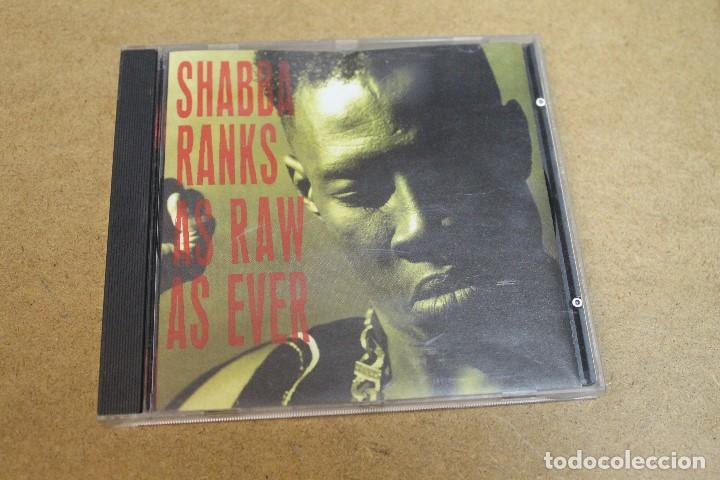 CD SHABBA RANKS AS RAW AS EVER (Música - CD's Reggae)