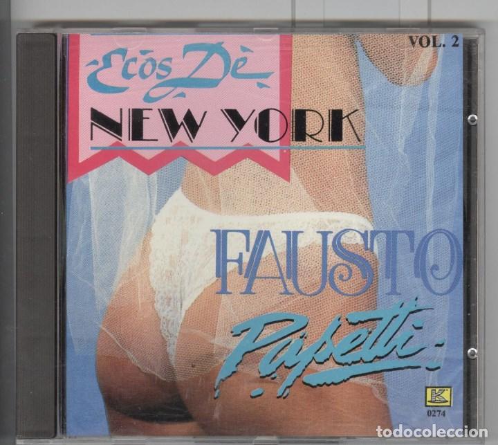 FAUSTO PAPETTI. ECOS DE NEW YORK. CD CANADA 1989. SEXY COVER (Música - CD's Melódica )