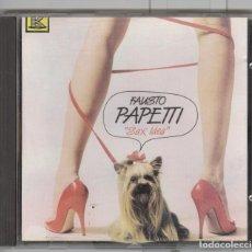 CDs de Música: FAUSTO PAPETTI. SAX IDEA. CD CANADA 1989. SEXY COVER. Lote 69811637