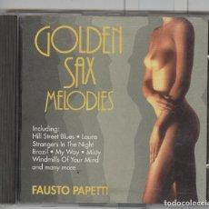 CDs de Música: FAUSTO PAPETTI. GOLDEN SAX MELODIES. CD 1990. SEXY COVER. Lote 69811693