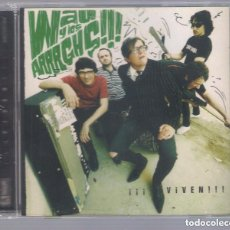 CDs de Música: WAU Y LOS ARRRGHS!!! - ¡¡¡VIVEN!!! (CD 2008, MUNSTER RECORDS MR CD 286) PRECINTADO. Lote 170936472
