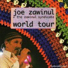 CDs de Música: DOBLE CD ALBUM: JOE ZAWINUL + THE ZAWINUL SYNDICATE - WORLD TOUR - 16 TRACKS - ESC RECORDS 1998. Lote 69824901
