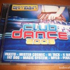 CDs de Música: CD CLUB DANCE 2006. VARIOS ARTISTAS. EDICION WARNER DE 2006.. Lote 69874561