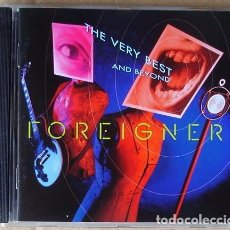 CDs de Música: FOREIGNER - THE VERY BEST (CD 1992). Lote 69963721