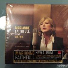 CDs de Música: MARIANNE FAITHFULL: EASY COME EASY GO (DELUXE EDITION 2CD + 1DVD). Lote 69977821