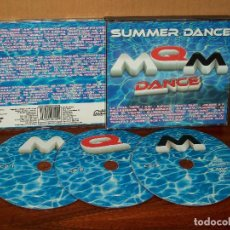 CDs de Música: MQM DANCE - SUMMER DANCE - DOBLE CD . Lote 69992837
