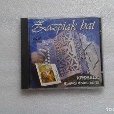 CDs de Música: ZAZPIAK BAT - KRESALA EUSKAL DOINU SORTA CD 1997. Lote 70027069