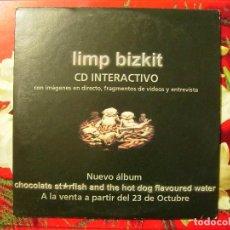 CDs de Música: LIMP BIZKIT...CD INTERACTIVO CON IMAGENES EN DIRECTO,FRAGMENTOS DE VIDEO Y ENTREVISTA.PROMO. Lote 70035193