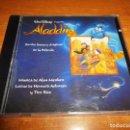 CDs de Música: DISNEY ALADDIN BANDA SONORA EN ESPAÑOL CD ALBUM 1992 ENRIQUE DEL POZO & MICHELLE ALAN MENKEN. Lote 139560672