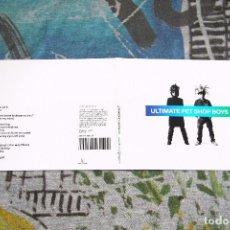 CDs de Música: PET SHOP BOYS - ULTIMATE - PARLOPHONE - DIGIPACK EDITION - 50999 919395 2 4 - CD. Lote 70049973