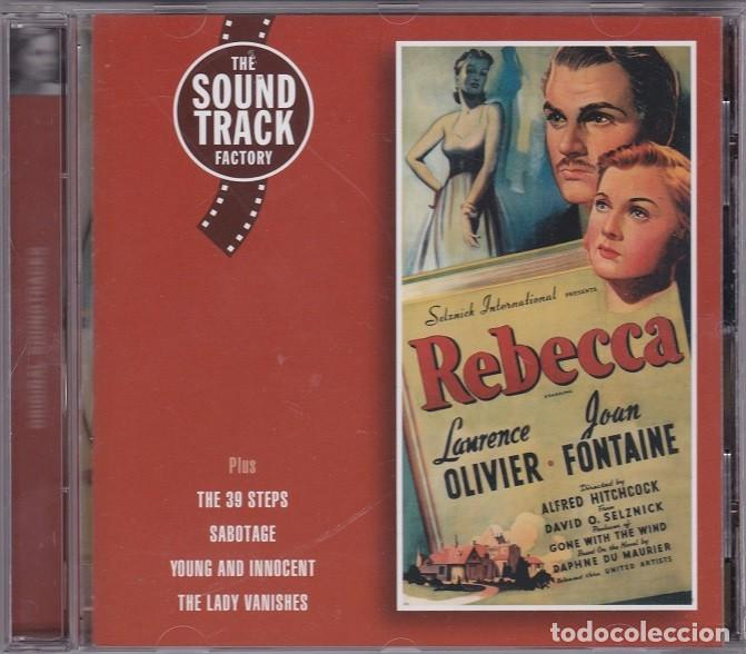 REBECCA (MUSIC FROM THE ALFRED HITCHCOCK MOVIES) - FRANZ WAXMAN (Música - CD's Bandas Sonoras)