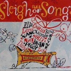 CDs de Música: SLEIGH FULL OF SONGS. CANCIONES DE NAVIDAD POR DAVID BOWIE, L HORNE,P LEE, E FITZGERALD...CD DIGIPAK. Lote 70080093