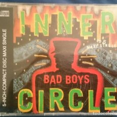 CDs de Música: INNER CIRCLE: BAD BOYS (THEME FROM COPS), CD MAXI WEA 4509-92472-2. EUROPE, 1993. Lote 70138769