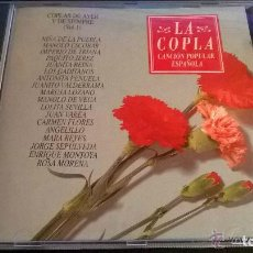 CDs de Música: LA COPLA. CANCION POPULAR ESPAÑOLA. COPLAS DE AYER Y DE SIEMPRE. 2 CD'S. Lote 70221377