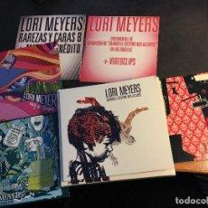 CDs de Música: LORI MEYERS (EDICION ESPECIAL. DISCOGRAFIA COMPLEYA MATERIAL INEDITO) BOX CON 5 CD Y 1 DVD (CDI4). Lote 70222569