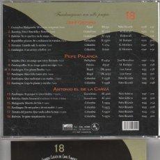 CDs de Música: GRANDES CLASICOS DEL CANTE FLAMENCO Nº 18 / (FANDANGUEROS CON SELLO PROPIO) CD 2001. Lote 121258672