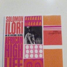 CDs de Música: SOLOMON ILORI AND HIS AFRO DRUM ENSEMBLE AFRICAN HIGH LIFE ( 1963 BLUE NOTE 2003 ) REPLICA VINILO. Lote 70322925