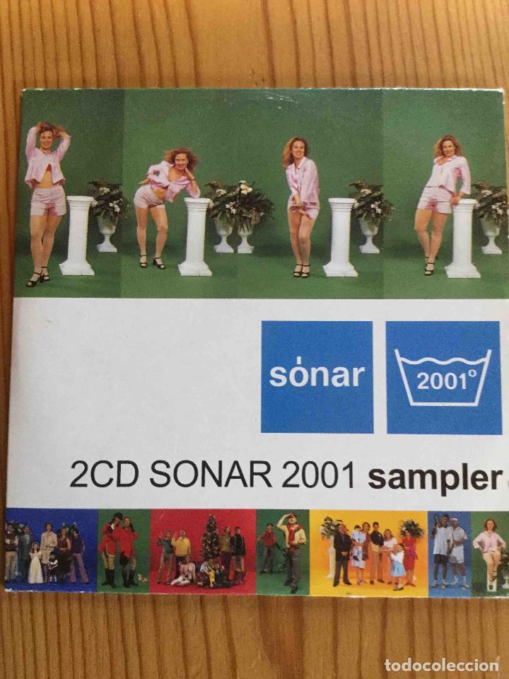 SÓNAR 2001 - SAMPLER (EL DIABLO DISCOS, 2001) CD (Música - CD's Disco y Dance)
