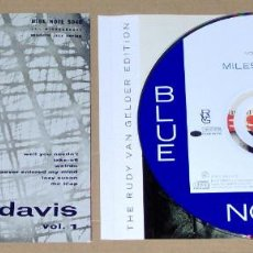 CDs de Música: MILES DAVIS VOLUME 1 & MILES DAVIS VOLUME 2 (2 CD) (REMASTERED & EXPANDED) - JAZZ. Lote 70357557