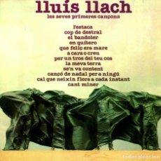 CDs de Música: LLUÍS LLACH LES SEVES PRIMERES CANÇONS. Lote 70415873