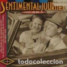 CDs de Música: SENTIMENTAL JOURNEY THE 40'S SELLO DISCOGRAFICO MCA RECORDS MCD 32631. Lote 70416145