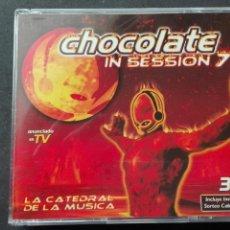 CDs de Música: CHOCOLATE SESIÓN 7 LA CATEDRAL DE LA MÚSICA 3 CD. Lote 70427797