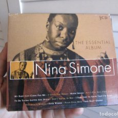 CDs de Música: NINA SIMONE THE ESSENTIAL ALBUM GOLDEN STARS 3 CDS. Lote 70528441