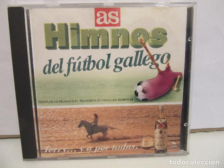 HIMNOS DEL FUTBOL GALLEGO - AS - PROMO - 1995 - NM+/EX+ (Música - CD's Otros Estilos)