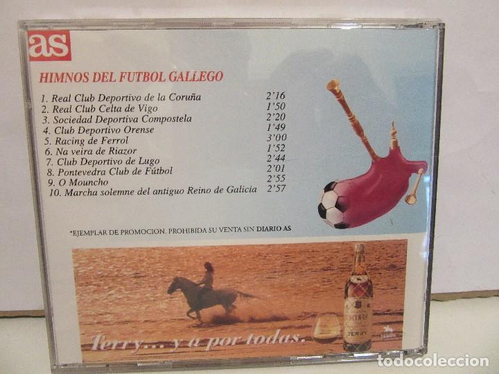 CDs de Música: Himnos Del Futbol Gallego - AS - PROMO - 1995 - NM+/EX+ - Foto 2 - 70533857