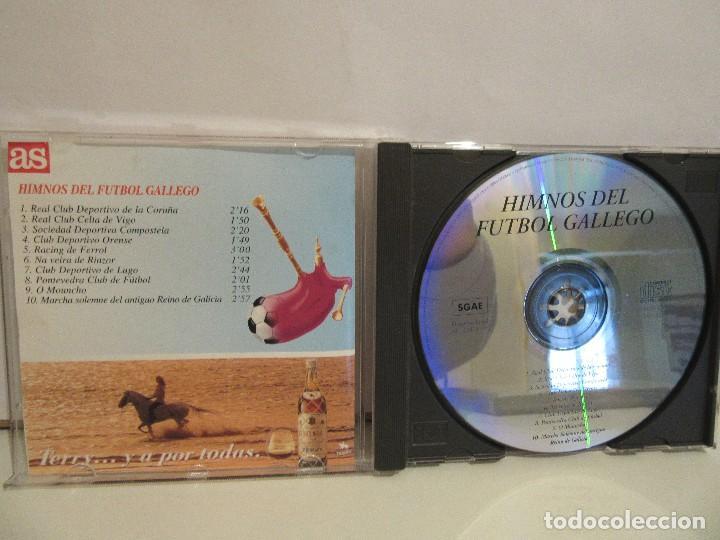 CDs de Música: Himnos Del Futbol Gallego - AS - PROMO - 1995 - NM+/EX+ - Foto 3 - 70533857