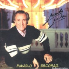 CDs de Música: MANOLO ESCOBAR CD 2002. Lote 70565397