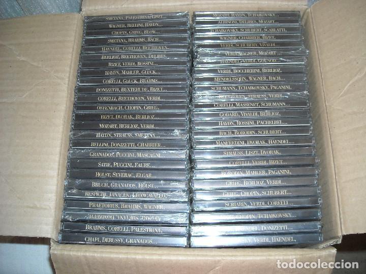 CDs de Música: COLECCION DE 50 CD DE MUSICA CLASICA - OBRAS MAESTRAS DE LA MUSICA - Foto 2 - 70583117